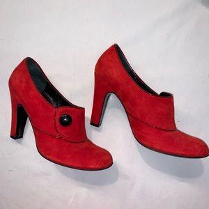Marc Jacobs red Suede heels